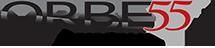 Logo ORBE 55 anos, desde 1960