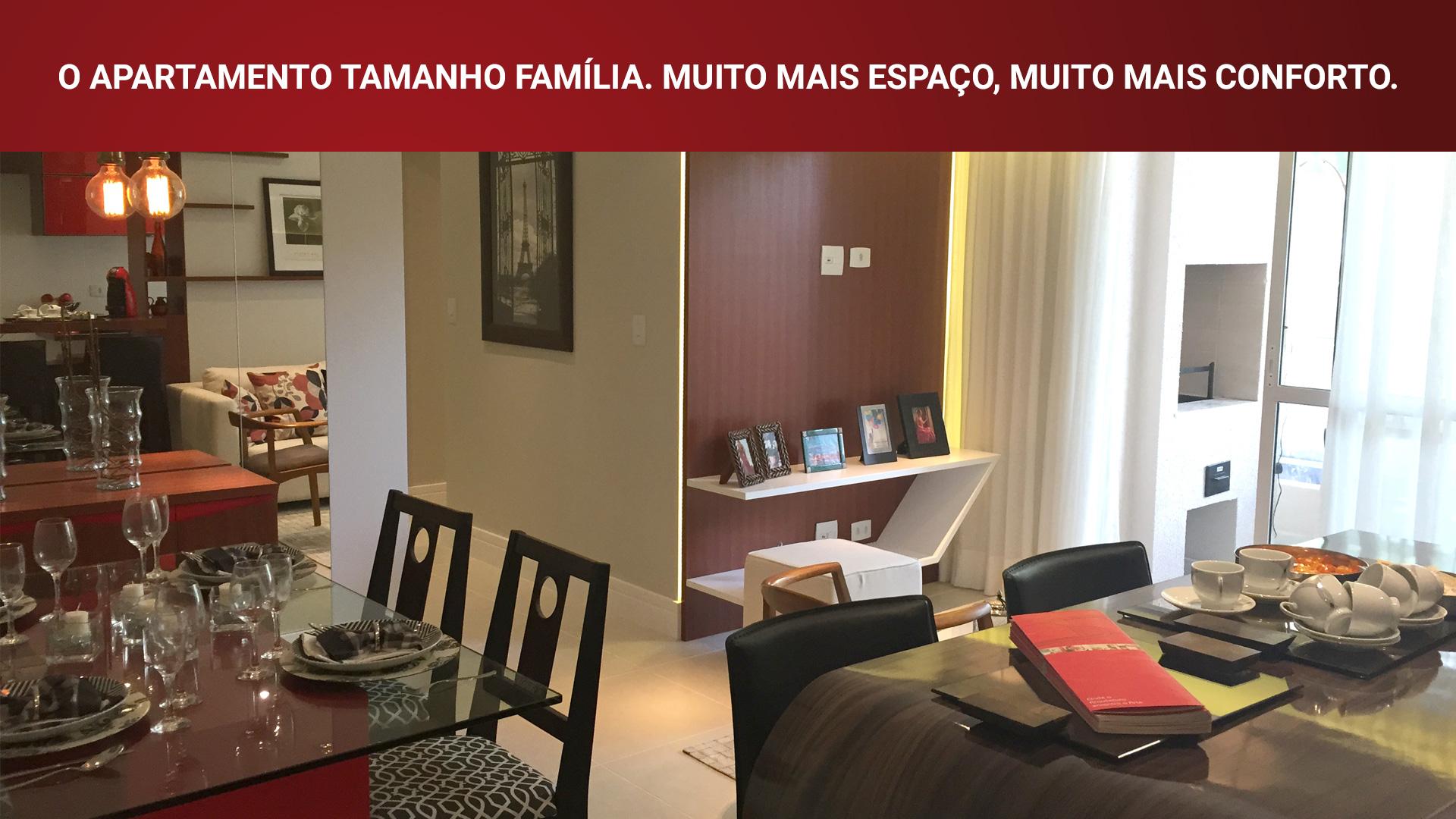 Conheça o apartamento decorado
